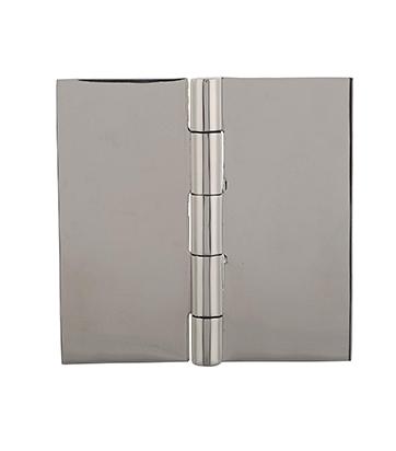 """Butt Hinge Weld On Flat Steel Heavy Duty Metal Door 6/"""" x 6/""""2 PACK"""