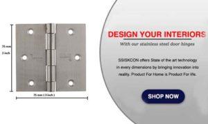 Top Stainless Steel Door Hinges Manufacturer